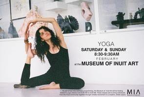 Yoga at Museum of Inuit Art