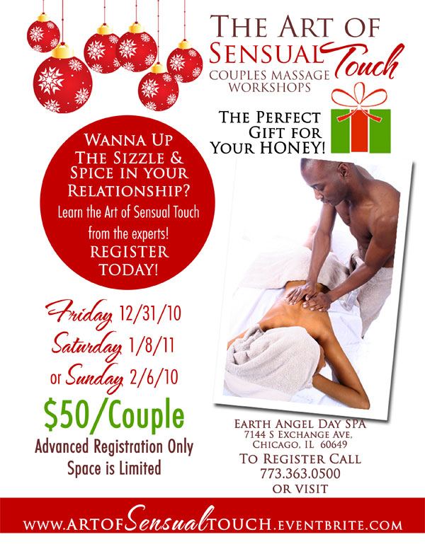 The Art Of Sensual Touch Couples Massage Workshop Tickets -2378