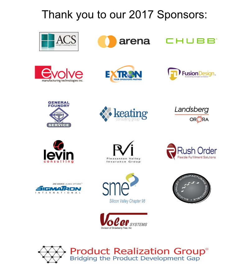 PRG Symposium Sponsors 2017