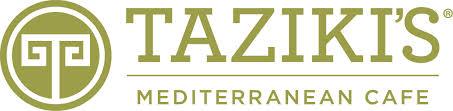 Sponsor-Taziki's Mediterranean Cafe