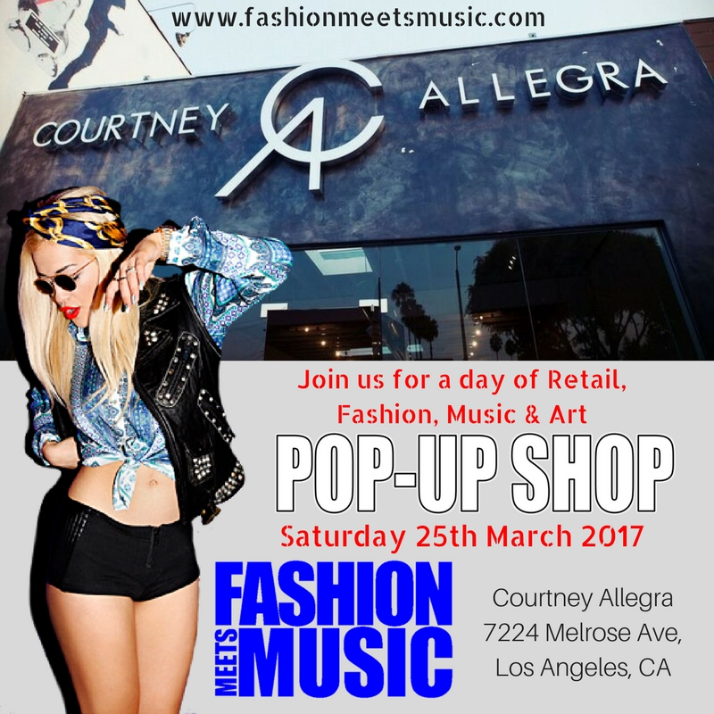 FMM LAFW Pop Up Store