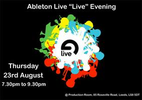 "Ableton Live ""Live"" Evening at Production Room"