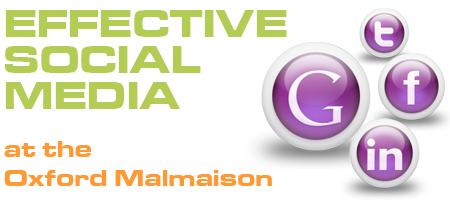 Social Media seminar at the Oxford Malmaison