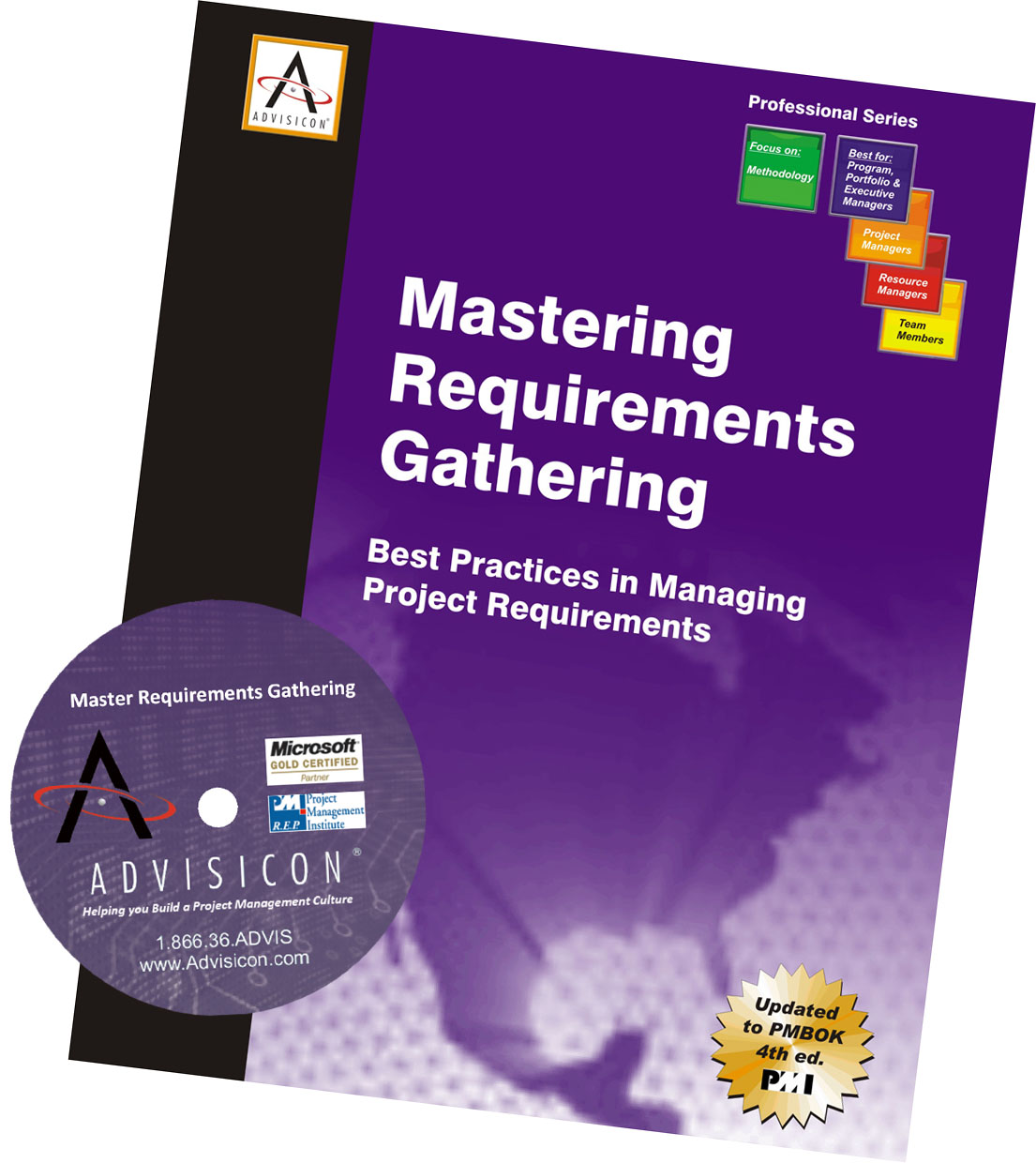 Mastering Requirements Gathering book & CD