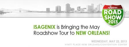 New Orleans Isagenix International Roadshow