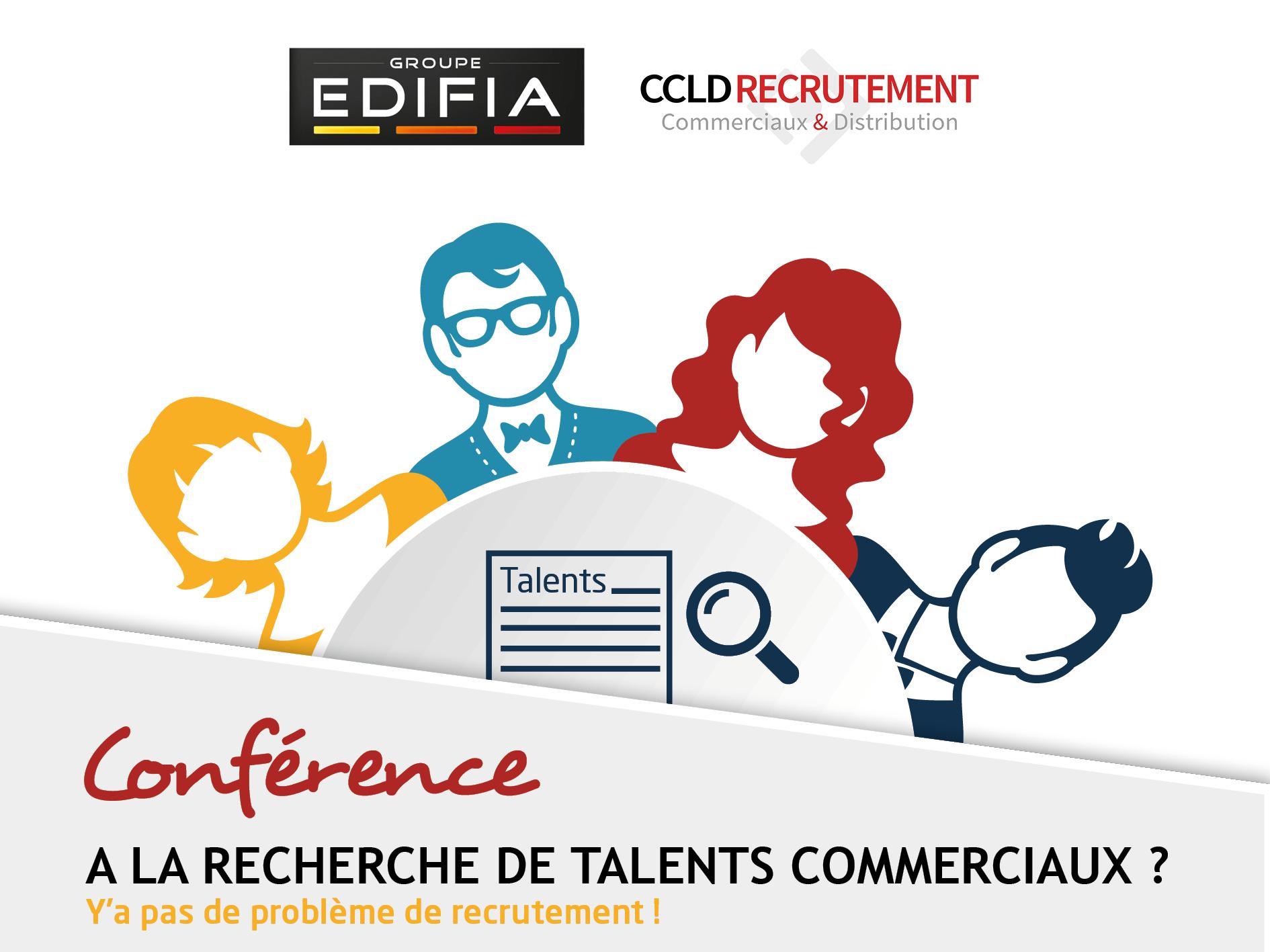 Conférence : à la recherche de talents commerciaux ?