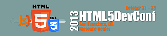 HTML5DevConf EB Banner