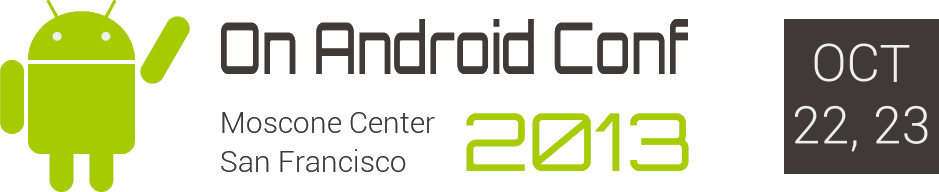 On Android Developer Conference Banner