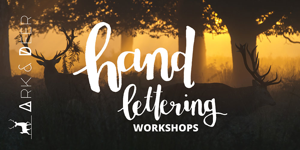 Hand Lettering Creative Workshops