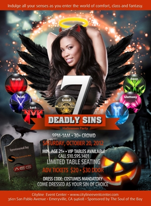 7 Deadly Sins Halloween Party