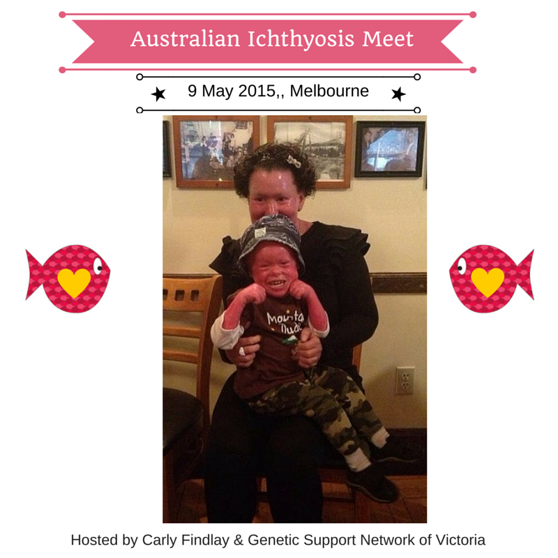 Ichthyosis Meet - Carly with Children affected by Ichthyosis