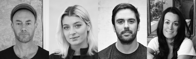 ADA panellists Adam Goodrum, Christina Bricknall, Adam Cornish, Anne-Maree Sargeant