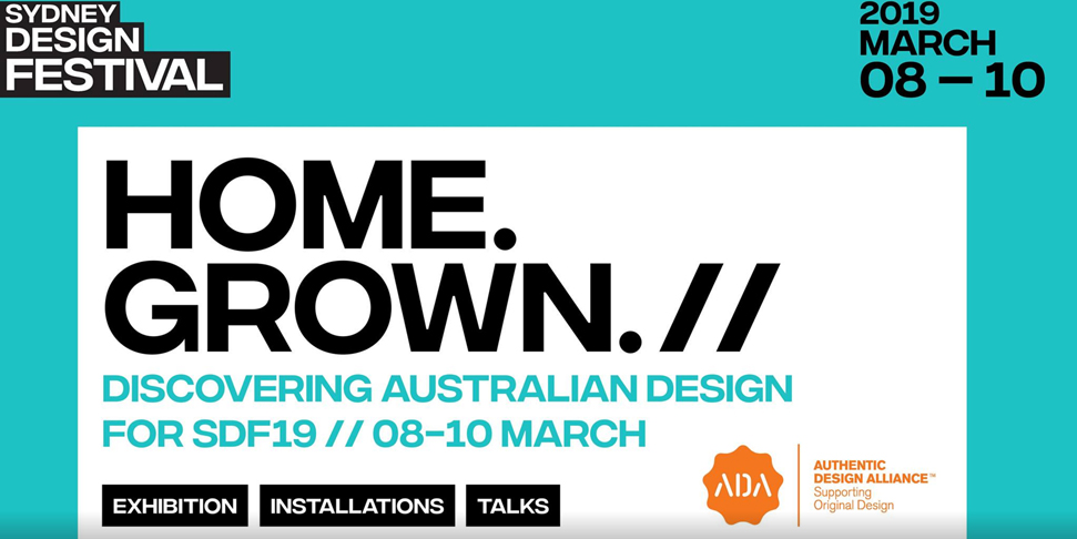 Home.Grown. Sydney Design Festival