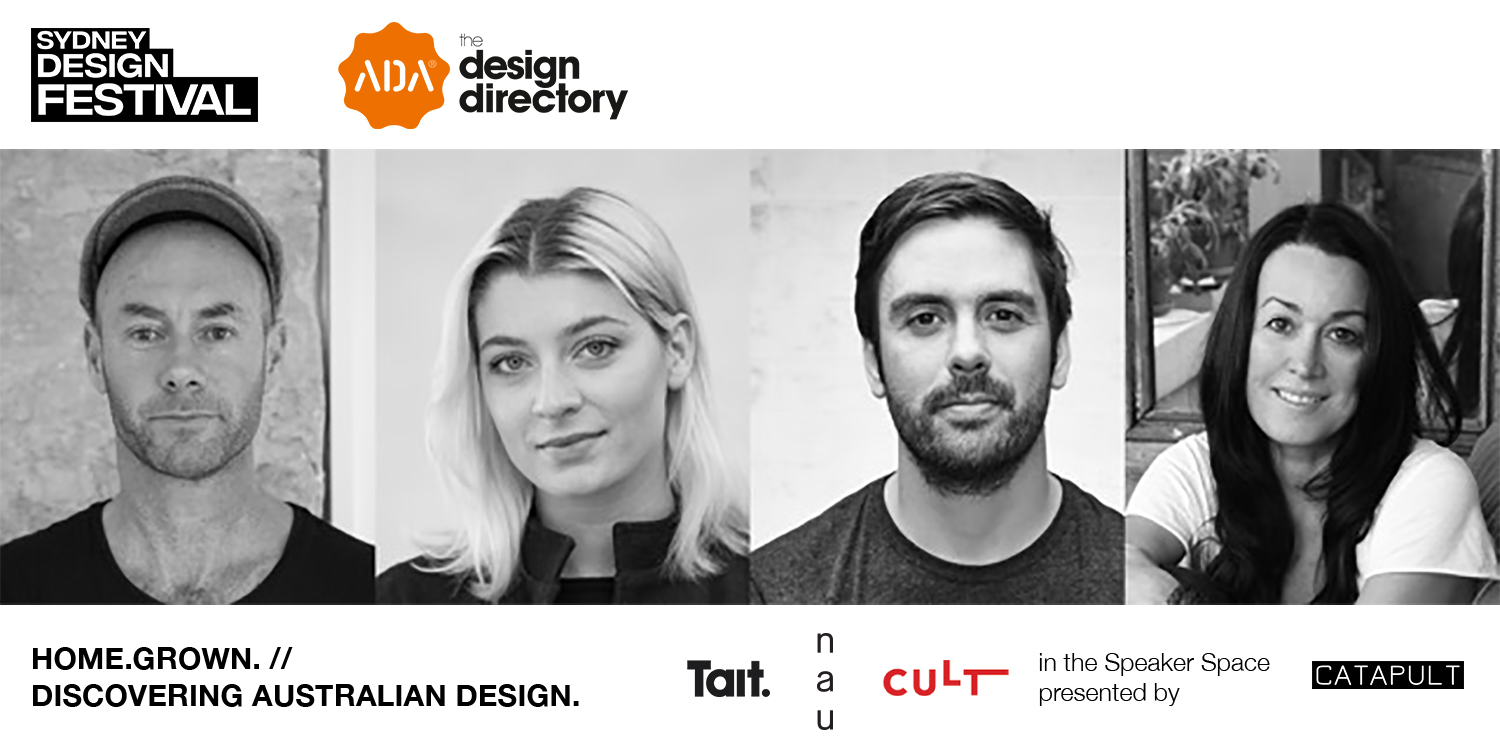 HOME.GROWN. Talk // discovering Australian design