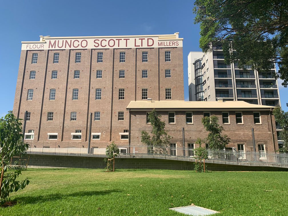 Mungo Scott Flour Mill