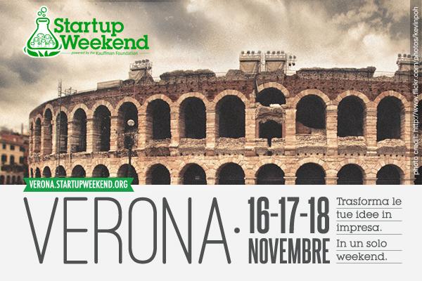 Startup Weekend Verona 16 novembre 2012