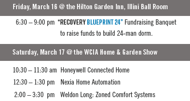Recovery blueprint 24 tickets fri mar 16 2018 at 630 pm schedule of events malvernweather Images