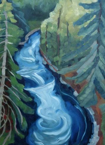 Elizabeth See, White Salmon River
