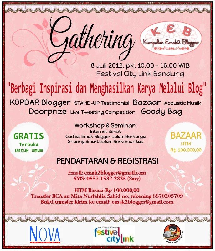 Gathering KEB Bandung 8 Juli 2012