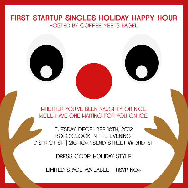 Startup Singles Holiday Happy Hour