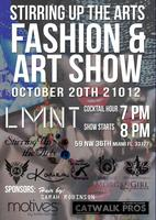 Stirring Up the Arts Fashion and Art Show
