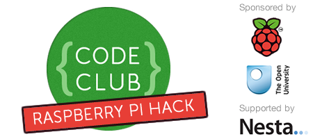 Code Club: Raspberry Pi hack