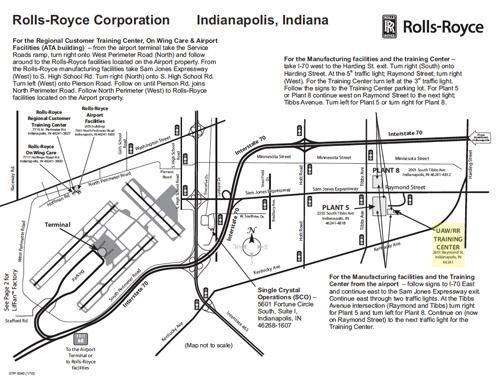Rolls Royce Map