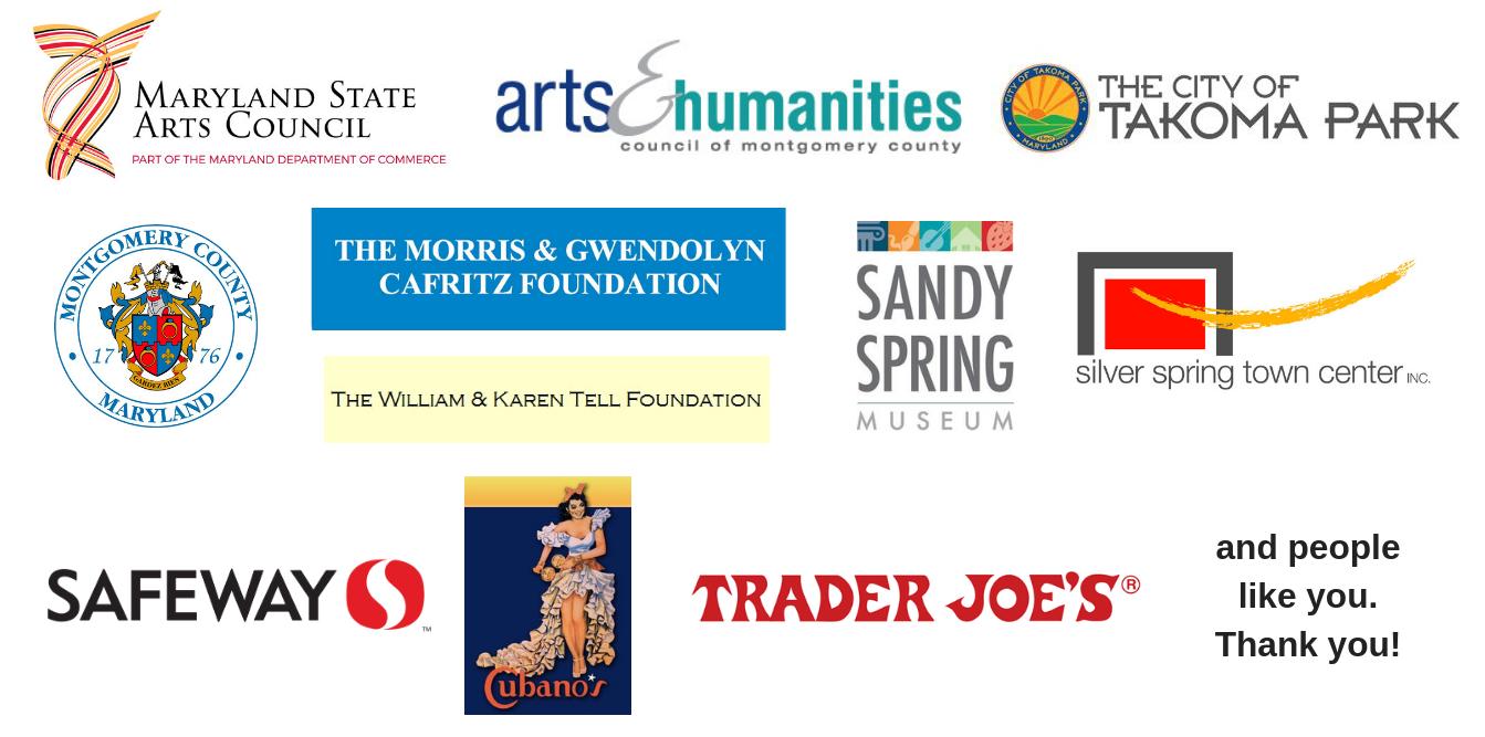 Logos of 2019 Sponsors