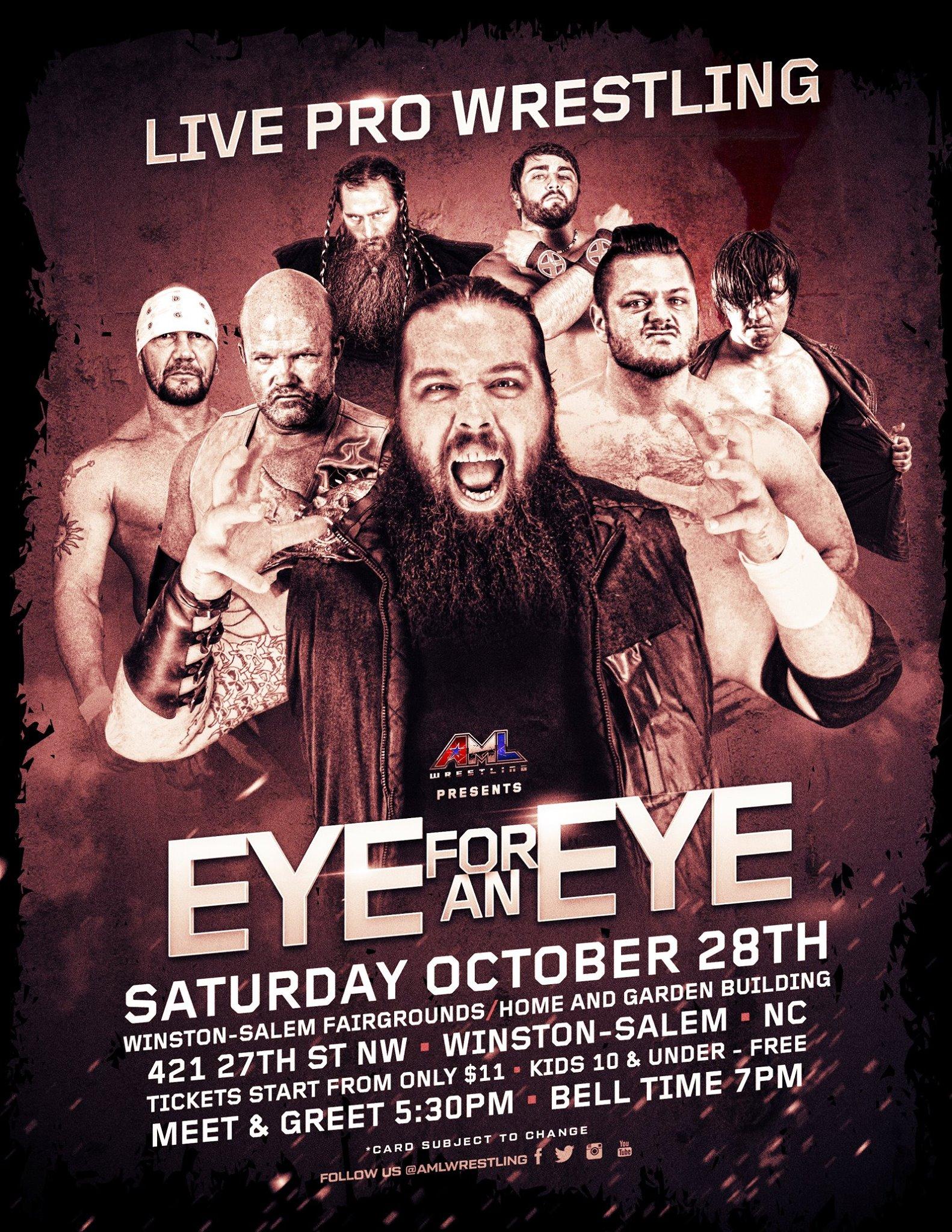 AML Wrestling October