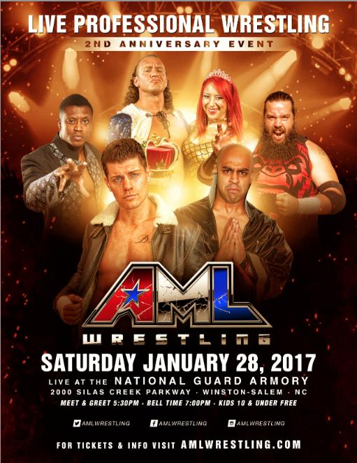AML Wrestling in Winston Salem, NC