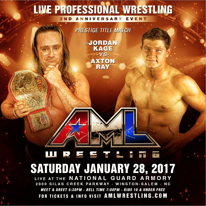Axton Ray vs Jordan Kage