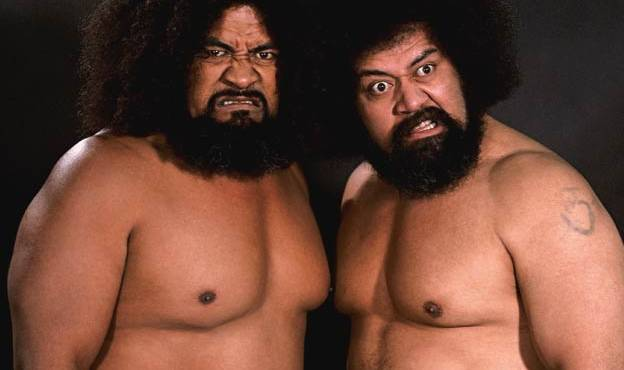 WIld Samoans at WrestleCade Weekend
