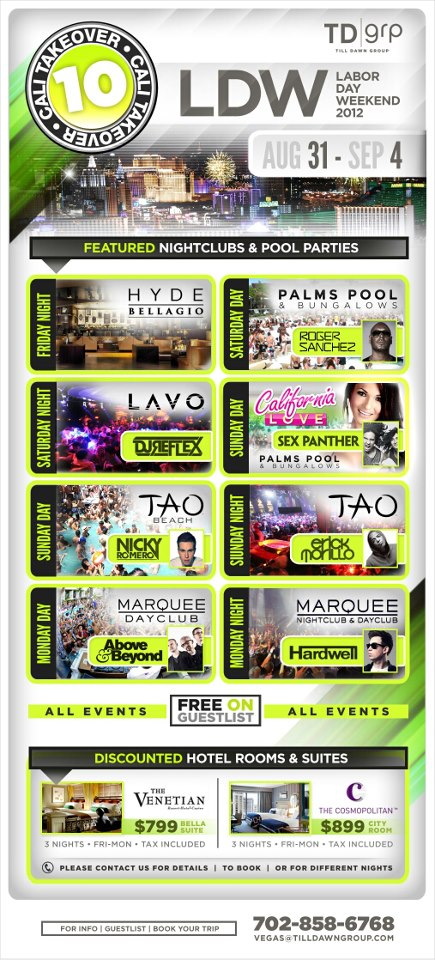 Check out the lineup!