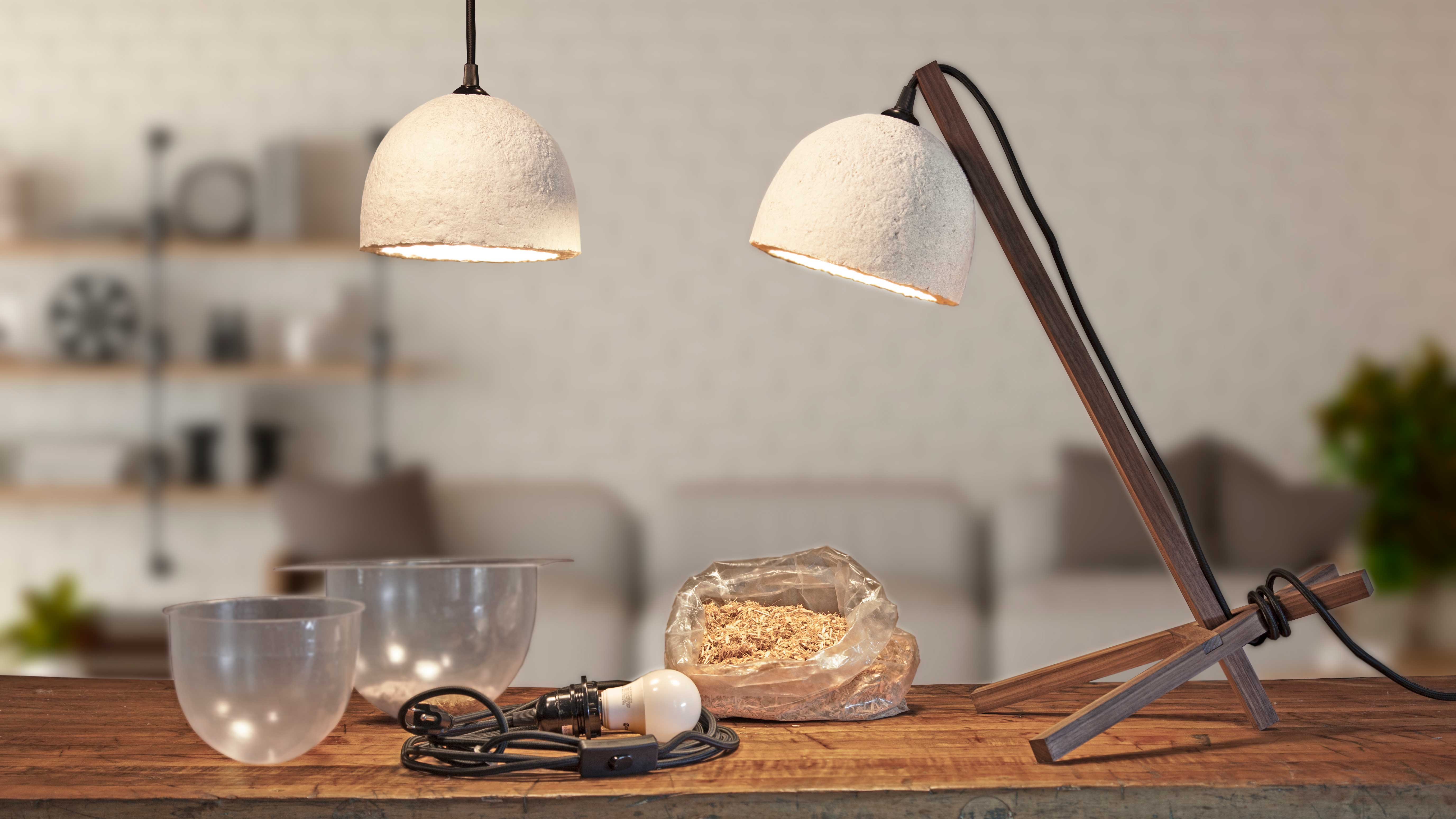 GROW Pendant and Table Lamps