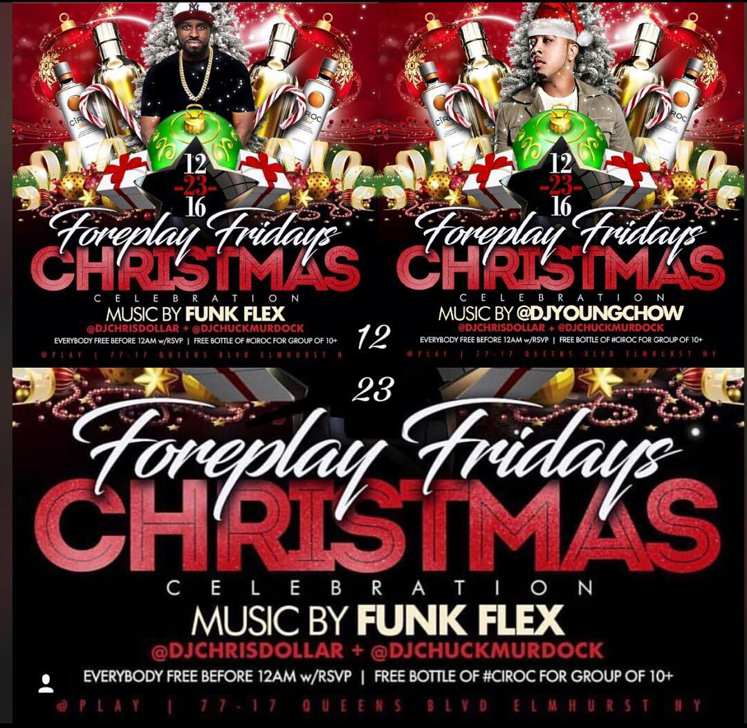 Funkmaster Flex Amp Dj Young Chow Christmas Celebration At