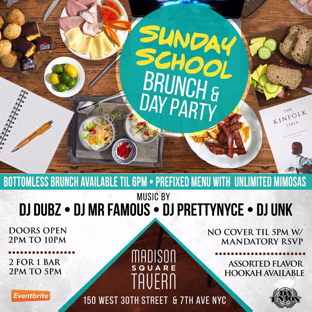 sunday school brunch day party madison square tavern tickets event details sunday school