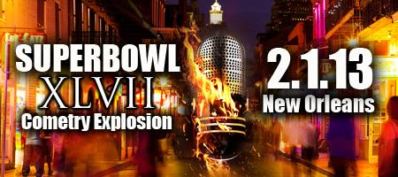 Superbowl Cometry Explosion