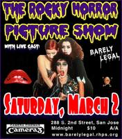 Rocky Horror thrusts into San Jose - Saturday March 2