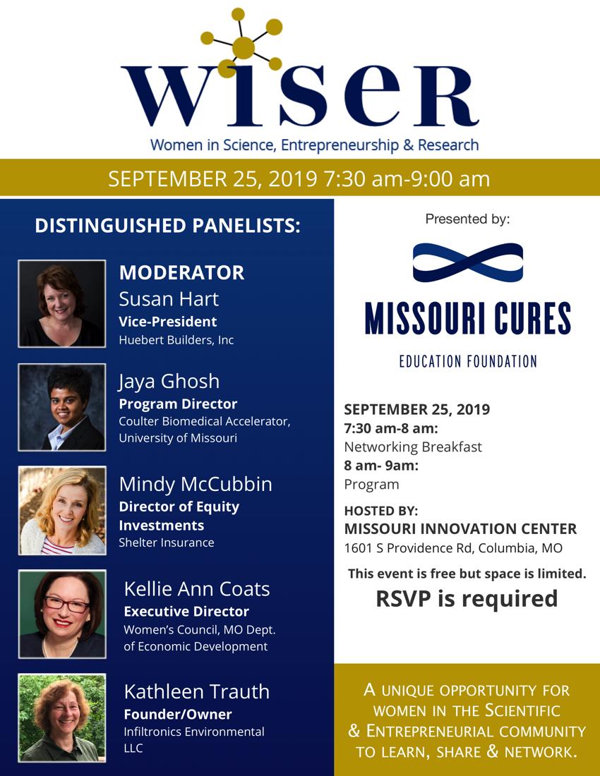 Flyer for WISER CoMO