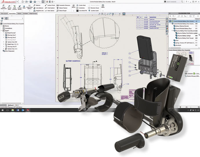 SOLIDWORKS 2017 software