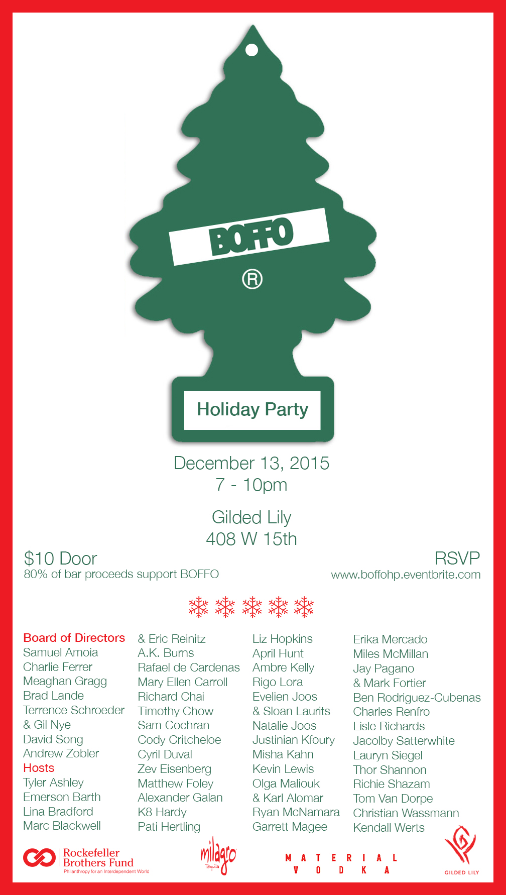 BOFFO Holiday Party