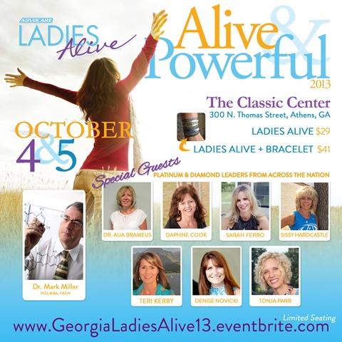 Ladies Alive 2013 Image