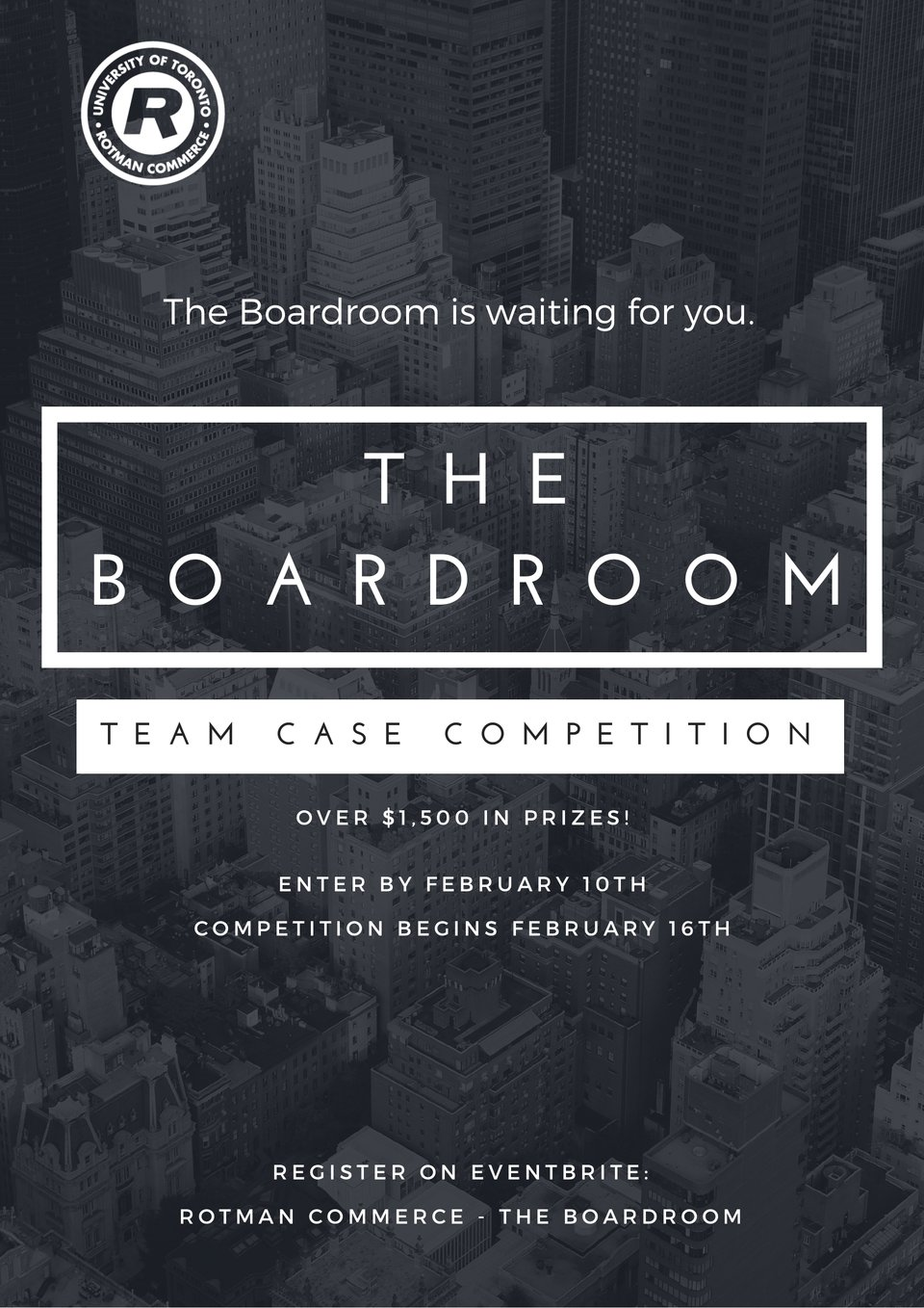Rotman Commerce - The Boardroom Poster