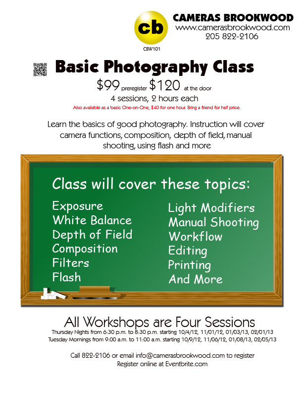 Basic Photography Class