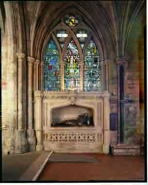 Shakespeare Memorial & Window, Southwark Cathedral