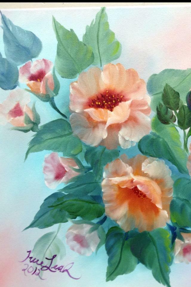 Bob Ross Floral Workshop