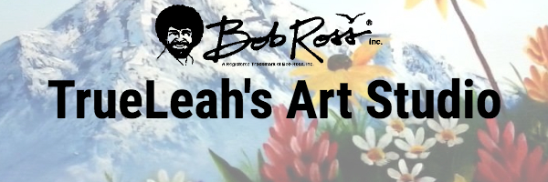 TrueLeah's Art Studio Logo - Bob Ross Art Classes
