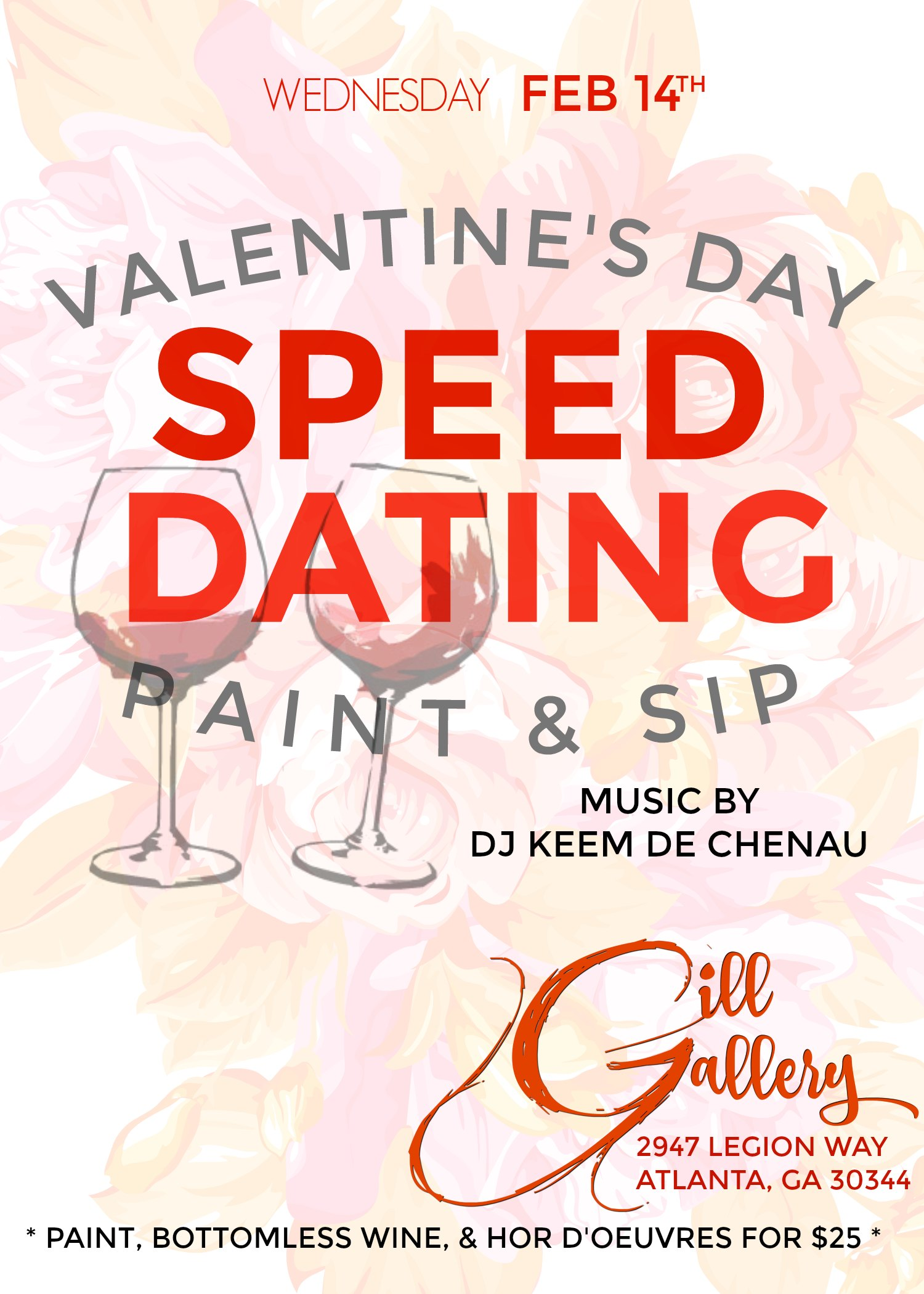 Speed dating valentines day