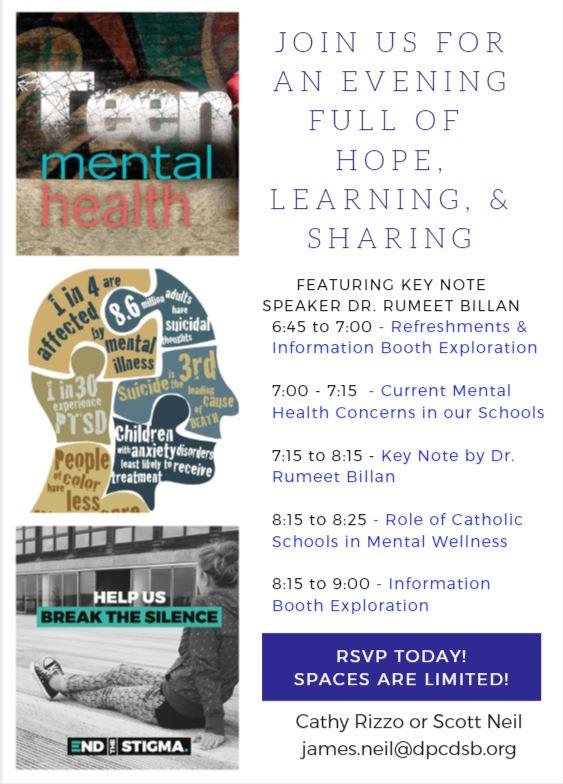 Teen Mental Wellness Evening Itinerary