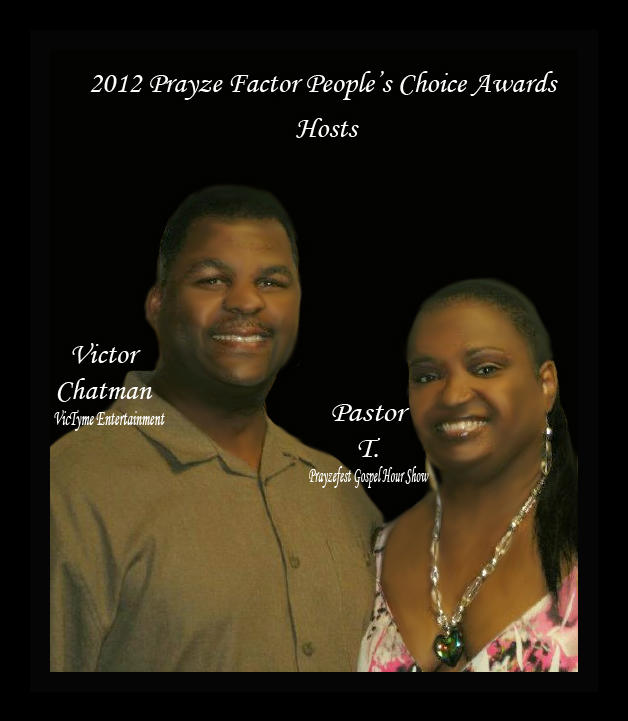Victor Chatman and Teresa Jordan Hosts Awards show